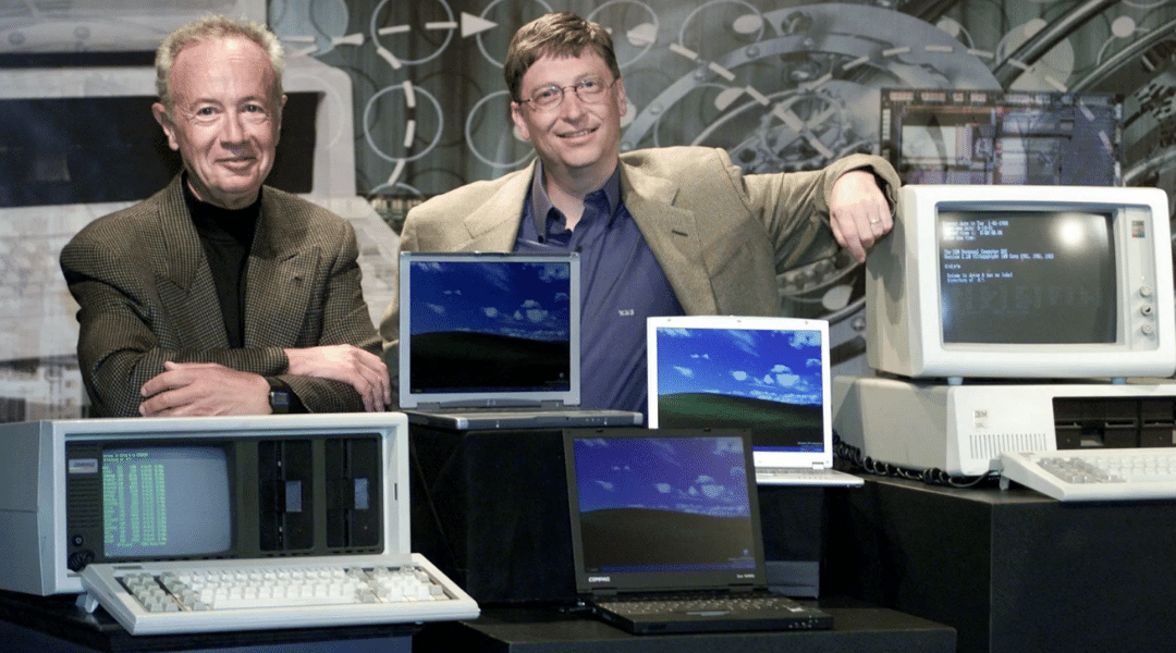 Andy Gove & Bill Gates