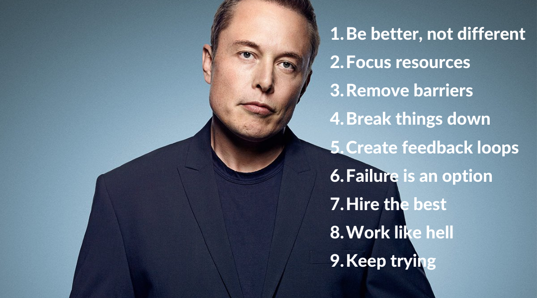 Elon Musk Success Principles